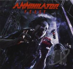 Annihilator - Feast CD Cover Art
