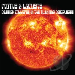 Moths & Locusts - Mission Collapse in the Twin Sun Megaverse CD Cover Art