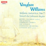 Lso / Thomson / Williams, Vaughan - Vaughan Williams: Sinfonia Antartica; Toward the Unknown Region CD Cover Art