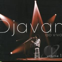 Djavan - Ao Vivo, Vol. 1 CD Cover Art