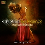 Sax, Mostafa - Egyptian Bellydance: Afrah Baladi CD Cover Art
