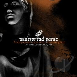 Widespread Panic - Live in the Classic City II, MM CD Cover Art