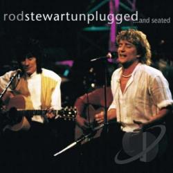 Stewart, Rod - Unplugged... And Seated CD Cover Art