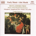 Oh Flanders Free: Music of the Flemish Renaissance CD Cover Art