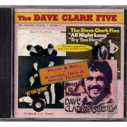 Dave Clark 5 - Complete History, Vol. 7: Pieces & Bits: Rarities, Hits & Single Tracks CD Cover Art