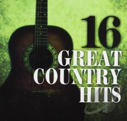16 Great Country Hits CD Cover Art