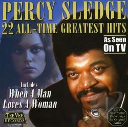 Sledge, Percy - 22 All-Time Greatest Hits CD Cover Art