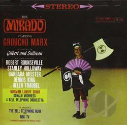 Mikado / TV Cast CD Cover Art