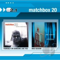 Matchbox Twenty - Yourself Or Someone Like You/Mad Season CD Cover Art