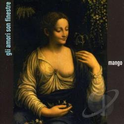 Mango - Gli Amori Son Finestre CD Cover Art