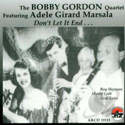 Gordon, Bobby - Don't Let It End CD Cover Art