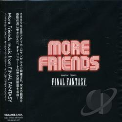 More Friends Music From Final Fantas CD Cover Art