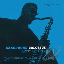 Rollins, Sonny - Saxophone Colossus CD Cover Art