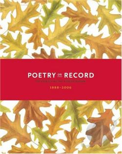 Poetry on Record: 98 Poets Read Their Work 1888-2006 CD Cover Art