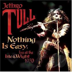 Jethro Tull - Nothing Is Easy: Live at the Isle of Wight 1970 LP Cover Art