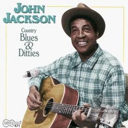 Jackson, John - Country Blues & Ditties CD Cover Art