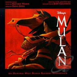 Mulan CD Cover Art
