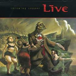Live - Throwing Copper CD Cover Art