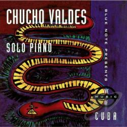Valdes, Chucho - Solo Piano CD Cover Art