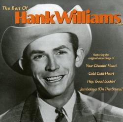 Williams, Hank - Best of Hank Williams CD Cover Art