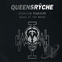 Queensryche - Operation: Mindcrime/Queen of the Ryche CD Cover Art