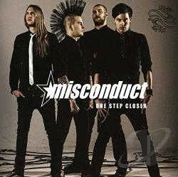 Misconduct - One Step Closer CD Cover Art