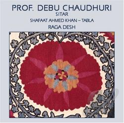 Professor Debu Chaudhuri - Raga Desh CD Cover Art
