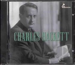 Edison Victor Us & Uk Columb - Charles Hackett CD Cover Art