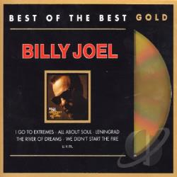 Joel, Billy - Greatest Hits V.3: Best Of The Best Gold CD Cover Art