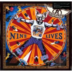 Aerosmith - Nine Lives LP Cover Art