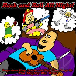 Mighty Mr. Billy - Rock & Roll All Night CD Cover Art