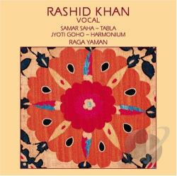 Khan, Rashid - Raga Yaman/Raga Kirwani CD Cover Art