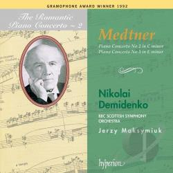 BBC Scottish So / Demidenko / Maksymiuk / Medtner - Medtner: Piano Concerto No. 2; Piano Concerto No. 3 CD Cover Art