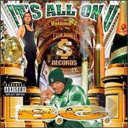 B.G. (Rap) - It's All on U, Vol. 2 CD Cover Art