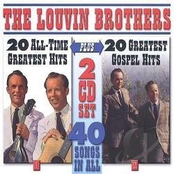 Louvin Brothers - 40 Songs CD Cover Art