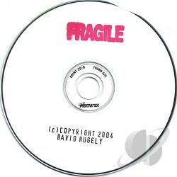Rugely, David - Fragile CD Cover Art