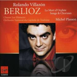 Berlioz / Plasson / Villazon - Berlioz: La Mort d'Orph�e; Songs & Choruses CD Cover Art