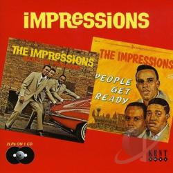 Impressions - Keep on Pushing/People Get Ready CD Cover Art
