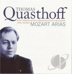 Quasthoff, Thomas - Mozart Arias CD Cover Art