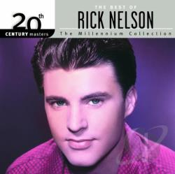Nelson, Rick - 20th Century Masters - The Millennium Collection: The Best Of Rick Nelson CD Cover Art