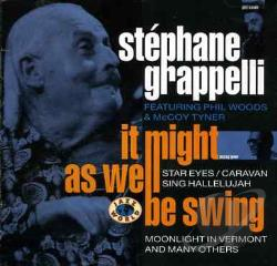 Grappelli, Stephan - It Might As Well Be Swing CD Cover Art
