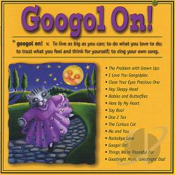 Johnson, Scott - Googol On! CD Cover Art