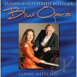Bottger, Jasmin / Gottfried - Blue Opera CD Cover Art