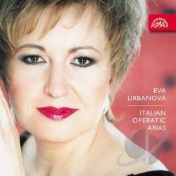 Urbanova, Eva - Italian Operatic Arias CD Cover Art