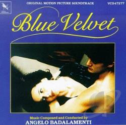 Badalamenti, Angelo - Blue Velvet CD Cover Art