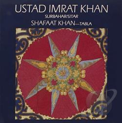 Khan, Imrat - Raga Puriya Dhanashri CD Cover Art