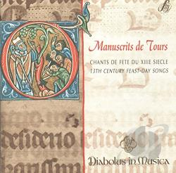 Diabolus In Musica - Manuscrits De Tours CD Cover Art