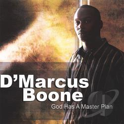Boone, D'Marcus - God Has A Master Plan CD Cover Art