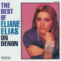 Elias, Eliane - Best Of Eliane Elias CD Cover Art