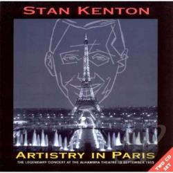 Kenton, Stan - Artistry in Paris CD Cover Art